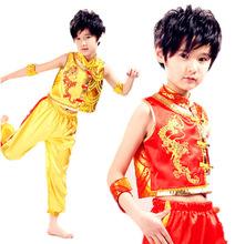 tanzkleid für jungen Kampfkunst kung fu kleidung jungen Leistung kleidung