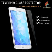 For 3 Years Supplier anti-fingerprint anti-bubble anti smudge custom design mobile phone Samsung galaxy note 4 screen protector
