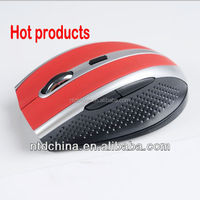 hot-selling wireless mouse with 6 buttons, optical computer mouse