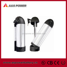 Rechargeable water bottle Lithium ion 24V 10ah Battery for E-Bike
