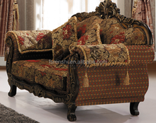 Classical French Antique Sofa/Antique Velvet Sofa/Antique Sofa Set SA71#