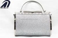 luxury box frame fashion evening hard case clutch bag
