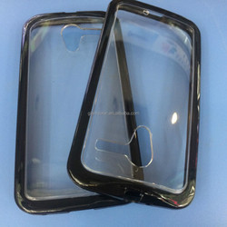 PC (glaze) +TPU two in one frame case for Motorola MOTO X