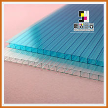 colored hollow double wall plastic roof sheets,solar roof panels