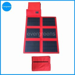 36W foldable monocrystal solar charger, solar charger car 12v