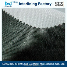 China high quality knitting garment factory tearable fusible woven interlining