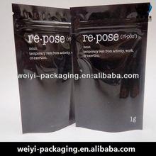 Top Quality smoke zipper packing