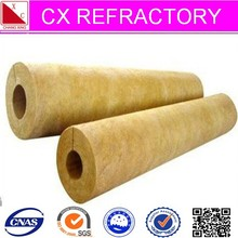 High density mineral wool pipe insulation