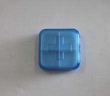 Perfect Workmanship 4 compartment cross shape pill box