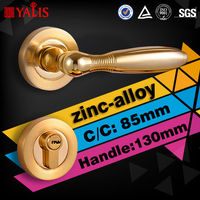 Toilet cylinder push lock gold finish door handles perth with brass latch