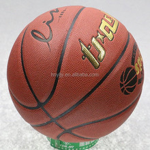 ISO certifcate PU Laminated training basketball