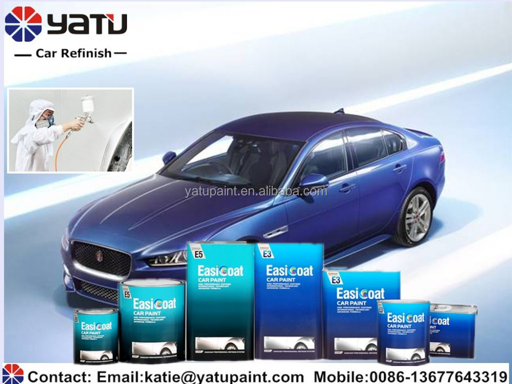 China Best Quality Factory Price Matte Blue Car Paint Car