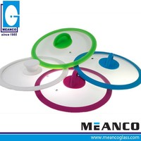 Food Grade and Approval Silicone Glass Pot Cover with Different Color Per Request by Panton Number