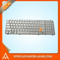 Replace Laptop Keyboard For HP DV6 Series,UT3,P/N:AEUT3U00010/9J.N0Y82.201,Layout US,Silver,All Brand New.