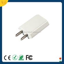 detachable plug usb wall charger for european countries detachable plug travel charger