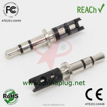 Diaphanous 24.5L 2.5mm stereo connector headers for motorola