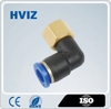 HPLF plastic push fitting from pneumatic central Manufacturers