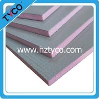 xps tile backer board foam waterproof and thermal insulation