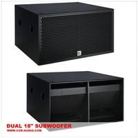 "CVR bass bin 2000 watt + 18"" subwoofer speaker box"