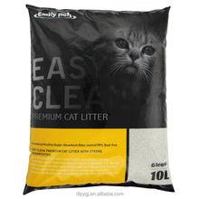 High Adsorption Pet Products Cat Sand Lemon