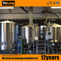 Customized cider making supplies beer brewing equipment with nice quality