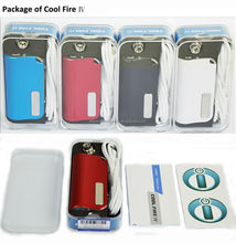 3.0V-7.5V Variable Voltage smart e cigarette kit Cool Fire IV