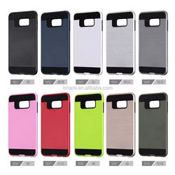 Hybrid High Impact Dual Layer Armor Defender Case Protective Cover for Samsung Galaxy S6 edge
