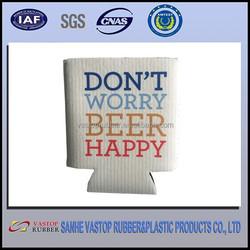 Factory OEM Blank or Printed Neoprene Collaps Beer Cooler
