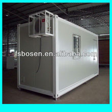 Prefabricated new style flat pack modular container office