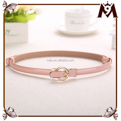 New products 2015 innovative product of pink belt dress