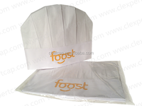 Kitchen Supply 100% Wood Pulp Paper Disposable Chef Hat