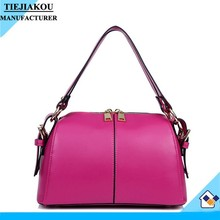 New products ladies leather female handbags leather hand bags factory