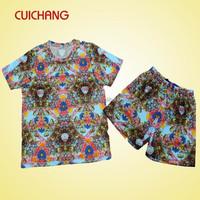 polyester sublimation custom t-shirt