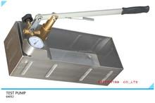 pressure test pump hand tool