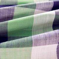 100 cotton slub yarn dyed woven fabric for shirting