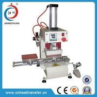 Jiangchuan simple cheap Pneumatic hot mark machine for heat transfer