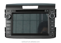 for honda CRV 2012 car gps vehicle tracker navigation android 4.4.4 pioneer car dvd player