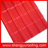 colored upvc insulation spanish roof tile