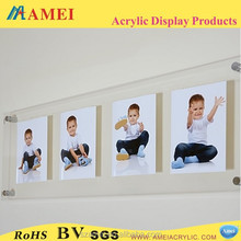 2014 pop style hanging picture frame acrylic baby girls acrylic photos picture frame