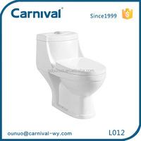 European cheap washdown one piece wc toilet L012