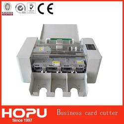 HOPU auto name card cutter boxes die cutting machine