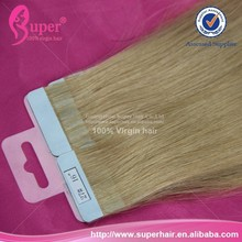 Guangzhou hair extension factory,hot sale tape hair extensions,european tape hair extensions