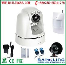 3g cctv camera wireless alarm system,video call sms mms smart wcdma security home alarm system BL-E800