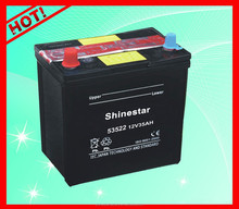 12V35Ah 53522 Korean Quality Lead Acid Dry Charge Car Battery