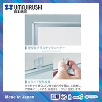 Japan magnetic ceramic whiteboard standard size 1200 x 900mm
