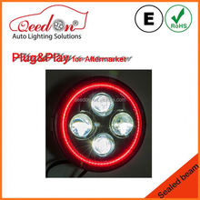 Qeedon excellent emark dot 7 inch 4x4 off road buggy led motorcycle headlight