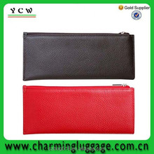 wholesale leather clutch bag/travel business credit card leather wallet
