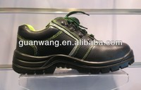 China Industrial Oil Water Resistant Leather Work Boots For Construction Workers