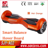 Smart Balance 2 wheel Electric Standing Scooter Self Balancing Monorover Hoverboard with 2015 Bluetooth music SJY-A02