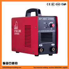 DC inverter high frequency single phase portable cheap mini electric arc welding machine with cooling fan